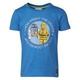LEGO T-Shirt BLAUW (Tony 450 Maat 140)
