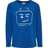 LEGO T-Shirt BLAUW (TEO 710 Maat 122)