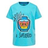 LEGO T-Shirt BLAUW (M-72494 Maat 140)