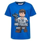 LEGO T-Shirt BLAUW (M-72527 Maat 128)