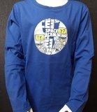 LEGO T-Shirt BLAUW (Tony 709 Maat 140)