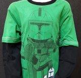 LEGO Star Wars T-Shirt Captain Rex DONKERGROEN (Tel 961 - Maat