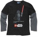 LEGO T-Shirt Darth Vader ZWART (Tom 955 - Maat 140)