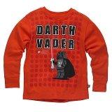 LEGO T-Shirt Darth Vader ORANJEROOD (Terry 125 Maat 140)