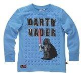 LEGO T-Shirt Darth Vader BLAUW (Terry 125 Maat 128)