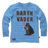 LEGO T-Shirt Darth Vader BLAUW (Terry 125 Maat 140)