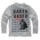 LEGO T-Shirt Darth Vader GRIJS (Terry 125 Maat 134)
