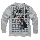 LEGO T-Shirt Darth Vader GRIJS (Terry 125 Maat 152)