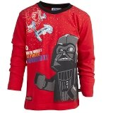 LEGO T-Shirt Darth Vader ROOD (Terry 652 Maat 134)