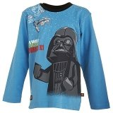 LEGO T-Shirt Darth Vader BLAUW (Terry 652 Maat 128)