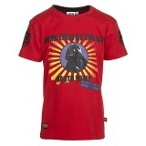 LEGO T-Shirt Darth Vader ROOD (Terry 651 Maat 116)