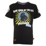 LEGO T-Shirt Darth Vader ZWART (Terry 651 Maat 116)