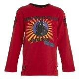LEGO T-Shirt Darth Vader ROOD (Terry 658 Maat 134)