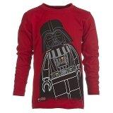 LEGO T-Shirt Darth Vader ROOD (Terry 871 Maat 128)