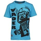 LEGO T-Shirt Darth Vader TURQUOISE (Thor 351 Maat 152)