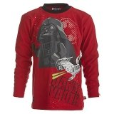 LEGO T-Shirt Darth Vader ROOD (Terry 751 Maat 116)