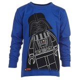 LEGO T-Shirt Darth Vader BLAUW (Terry 871 Maat 104)