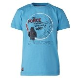 LEGO T-Shirt Darth Vader TURQUOISE (Thor 551 Maat 104)