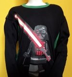 LEGO Star Wars T-Shirt Darth Vader ZWART (Tel 960 - Maat 146)
