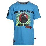 LEGO T-Shirt Darth Vader BLAUW (Terry 651 Maat 128)