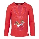 LEGO T-Shirt Friends ROOD (Tanisha 607 Maat 104)