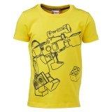 LEGO T-Shirt GEEL (Tony 616 Maat 116)