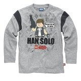 LEGO T-Shirt Han Solo GRAY (Terry 121 Size 128)
