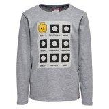 LEGO T-Shirt LICHTGRIJS (Tony 712 Maat 146)