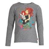 LEGO T-Shirt Mia GRIJS (Tasja 703 Maat 116)