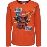 LEGO T-Shirt Ninjago ORANJE (TEO 733 Maat 134)