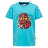 LEGO T-Shirt Ninjago BLAUW (Thomas 302 Maat 134)