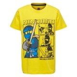 LEGO T-Shirt Ninjago GEEL (M-72509 Maat 122)