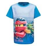 LEGO T-Shirt Ninjago BLAUW (M-72506 Maat 152)
