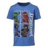 LEGO T-Shirt Ninjago LICHTBLAUW (M-70173 - Maat 116)