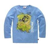 LEGO T-Shirt Ninjago LICHTBLAUW (Terry 202 Maat 152)