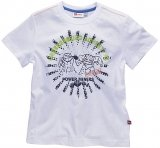 LEGO T-Shirt Power Miners WIT (Tel 303 - Maat 116)