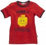 LEGO T-Shirt ROOD (Tel 310 - Maat 104)