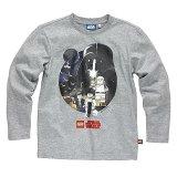 LEGO T-Shirt Star Wars Heroes GRIJS (Terry 122 Maat 146)