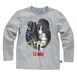 LEGO T-Shirt Star Wars Heroes GRIJS (Terry 122 Maat 152)
