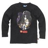 LEGO T-Shirt Star Wars Heroes ZWART (Terry 122 Maat 140)
