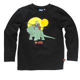 LEGO T-Shirt Star Wars ZWART (Terry 127 Maat 146)