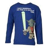 LEGO T-Shirt Star Wars Yoda KOBALTBLAUW (Thor 754 Maat 104)