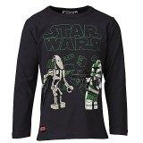 LEGO T-Shirt Star Wars DONKERGRIJS (Tristan 153 Maat 104)