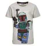LEGO T-Shirt Star Wars LICHTGRIJS (Teo 150 Maat 128)