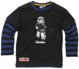 LEGO T-Shirt Stormtrooper ZWART (Tom 113 Maat 128)