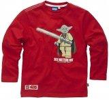 LEGO T-Shirt Yoda ROOD (Tom 114 Maat 152)