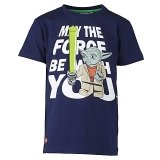 LEGO T-Shirt Yoda DONKERBLAUW (Thor 550 Maat 104)