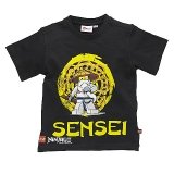 LEGO T-shirt ZWART (Tom 414 Maat 98-104)