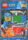LEGO Vuilnisman (Polybag)