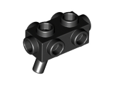 LEGO Wapen met Noppen ZWART (10 stuks)